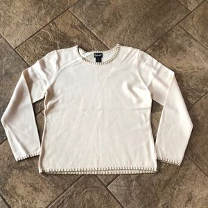 | nwot | RAFAELLA Cream Sweater